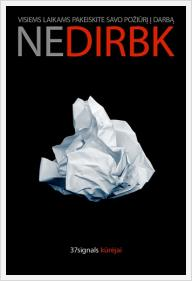 "Jason Fried, David Heinemeier Hansson ""Nedirbk"""